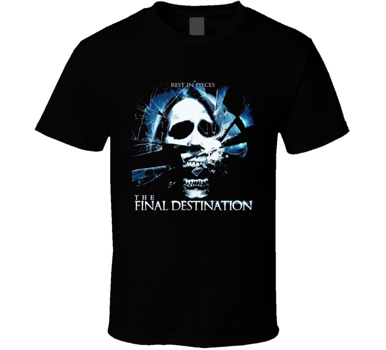 The Final Destination Horror Movie T Shirt