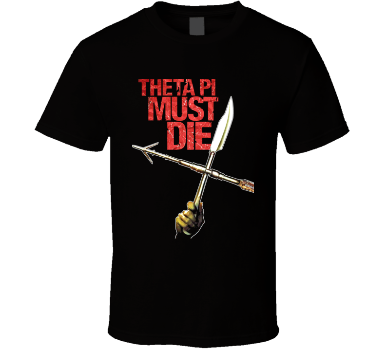 Sorority Row Horror Movie Black T Shirt