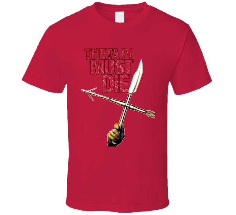Sorority Row Horror Movie Red T Shirt
