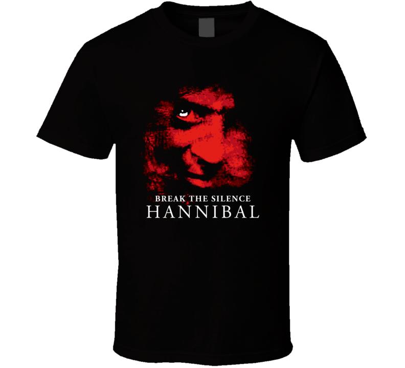 Hannibal Lecter Horror Movie T Shirt