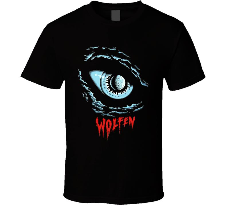 Wolfen Cult Horror Movie Werewolf Lycanthropy T Shirt