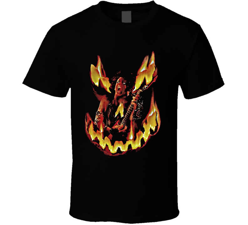 Trick Or Treat Rock And Roll Horror Movie T Shirt