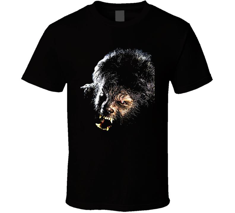 The Wolfman Horror Movie Werewolf T Shirt