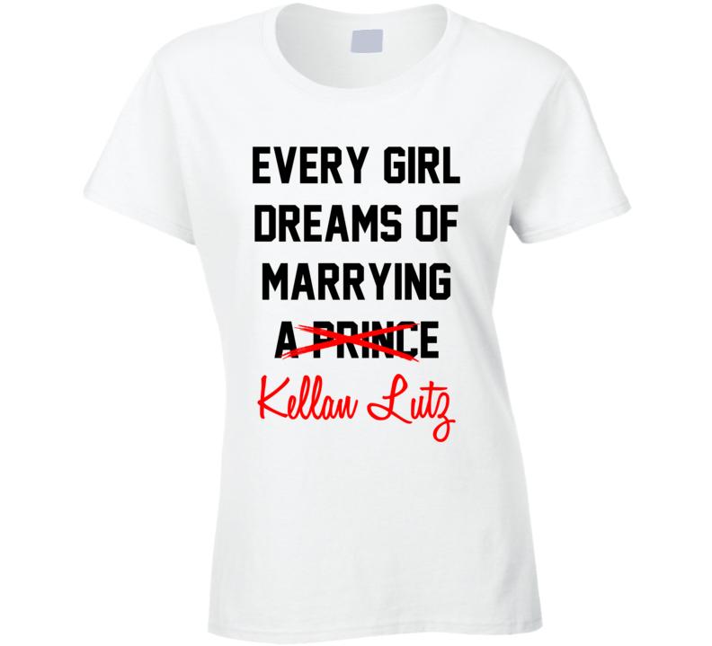 Every Girl Dreams Marrying Kellan Lutz Hot Celeb Fan T Shirt