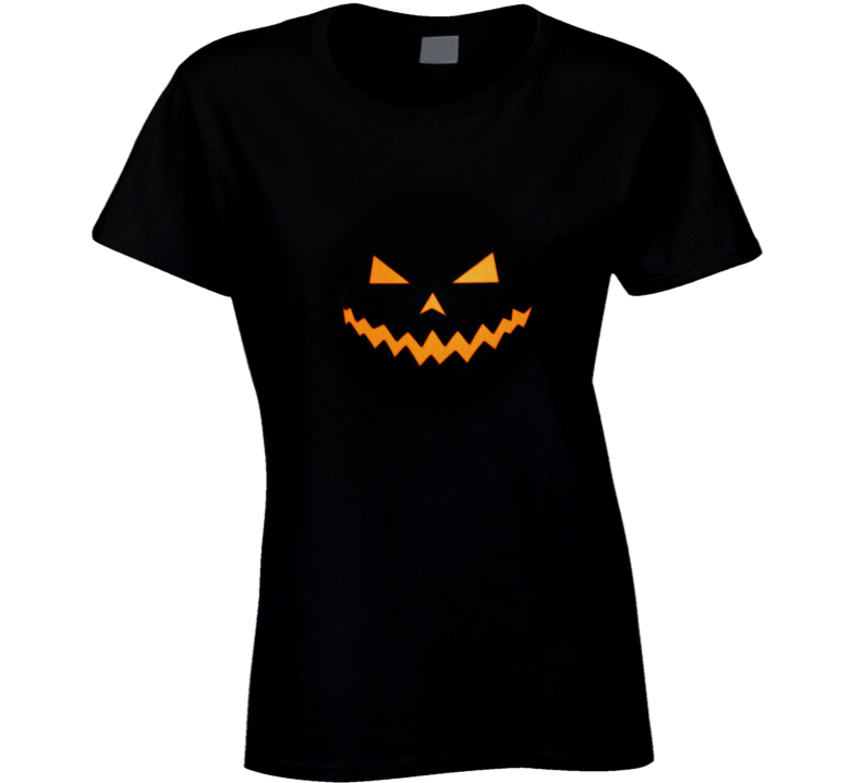 Scary Halloween Pumpkin T Shirt