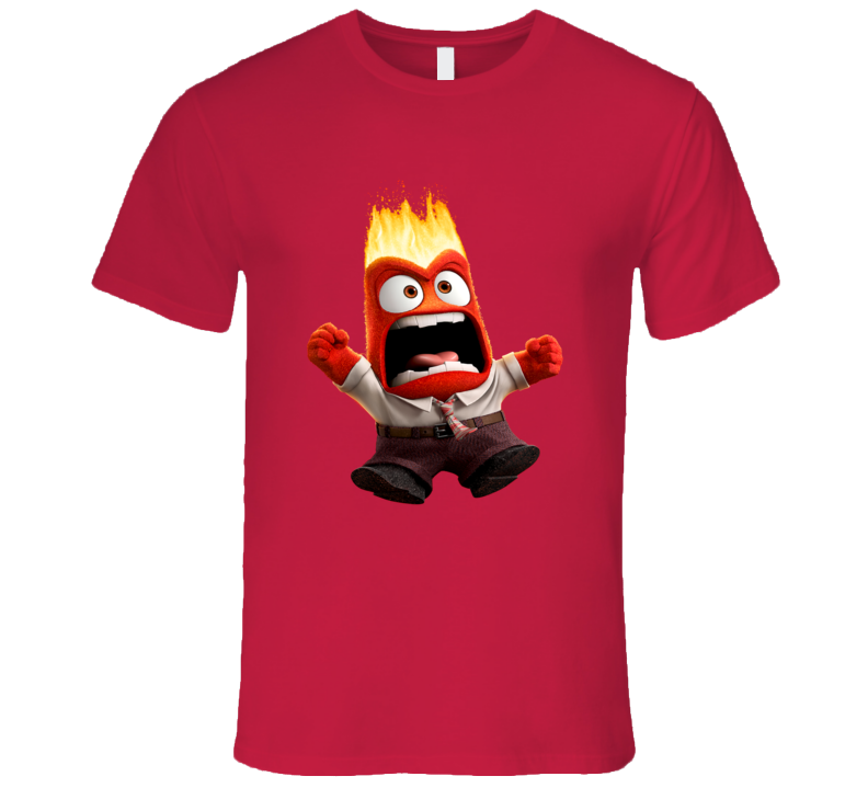 Anger Inside Out Halloween T Shirt
