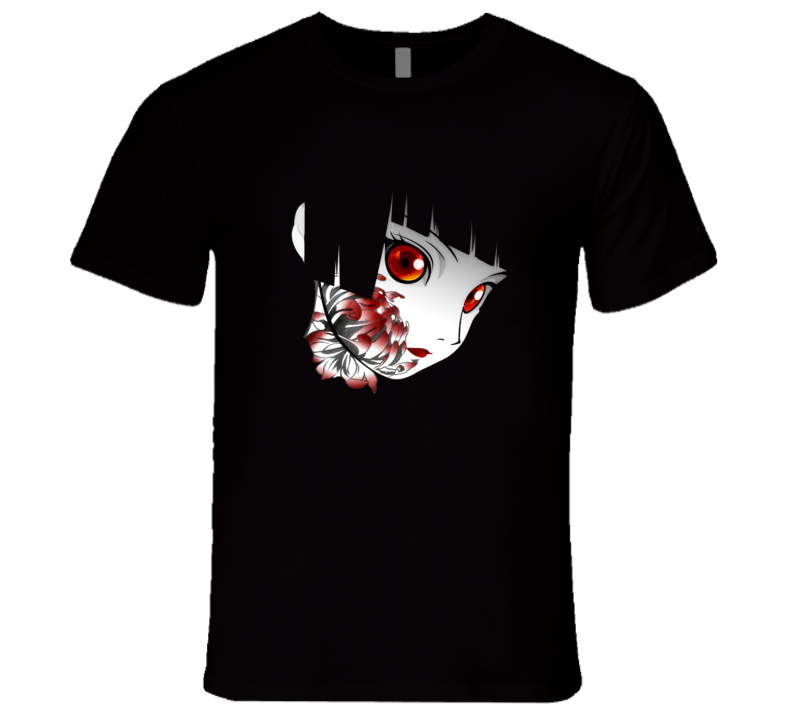 Anime Manga Scary Halloween T Shirt