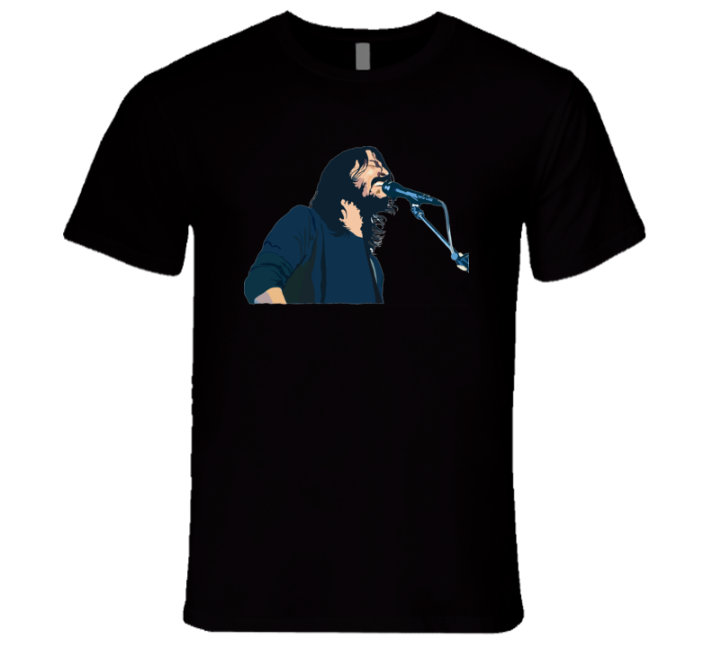 Dave Grohl Foo Fighters Nirvana T Shirt