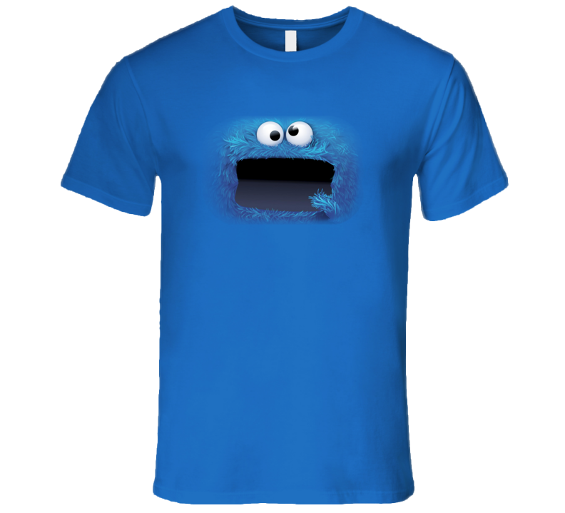 Cookie Monster Halloween Scary T Shirt