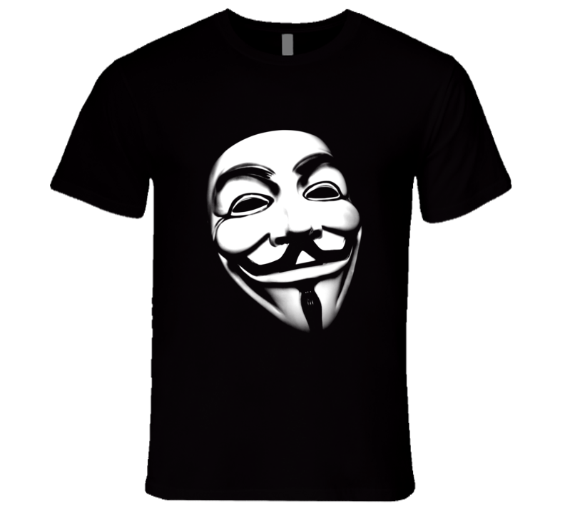 Anonymous Hackers Vendetta T Shirt