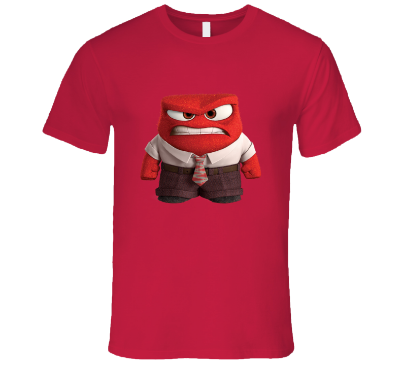 Anger Inside Out Halloween Costume T Shirt