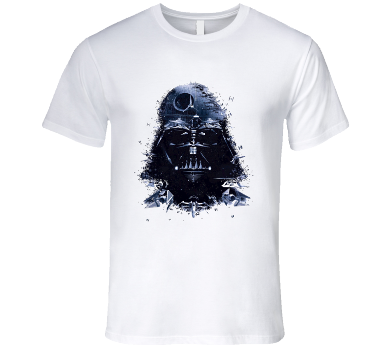 Darth Vader Death Star T Shirt