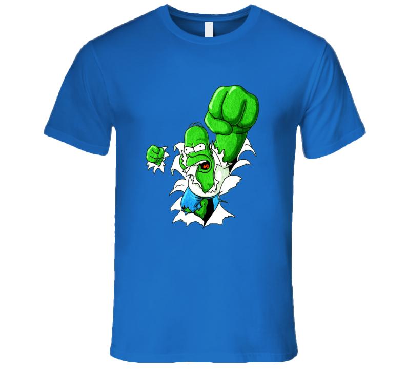 Homer Simpson Hulk T Shirt