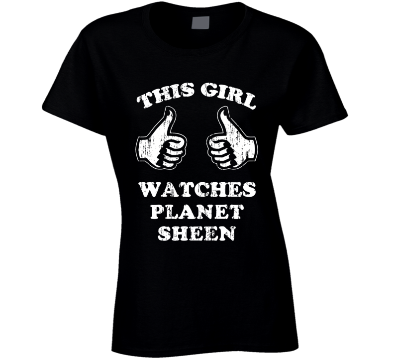 planet sheen coloring pages | Planet Sheen Sci Fi Cult TV Show This Girl Aged T Shirt