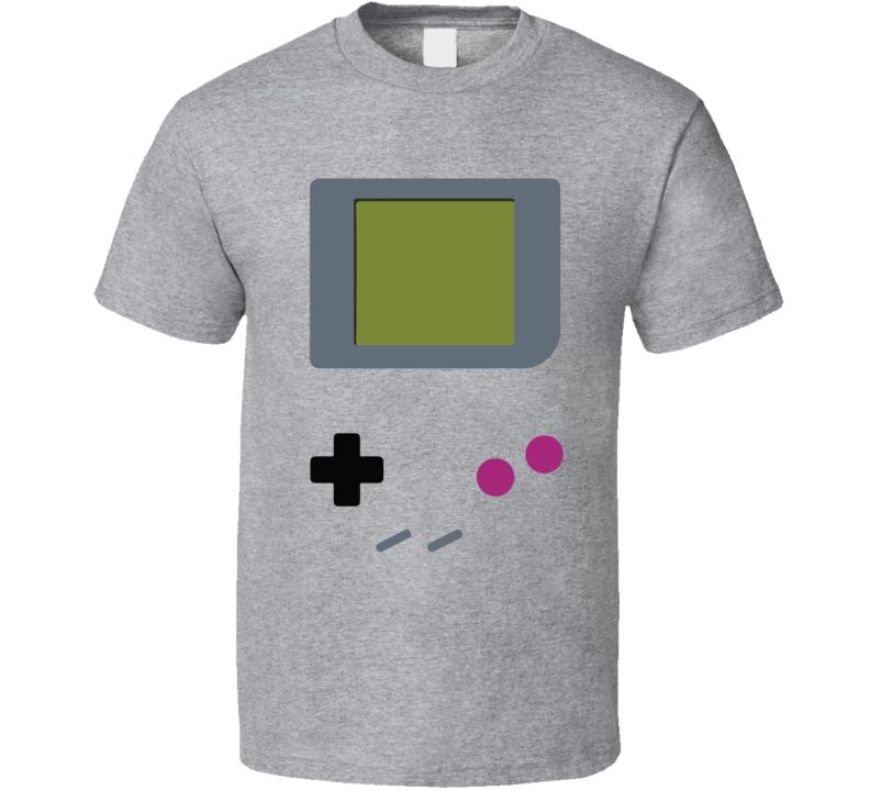 Gameboy Buttons Costume Retro Video Game Geek Nerd Gamer Gift T Shirt