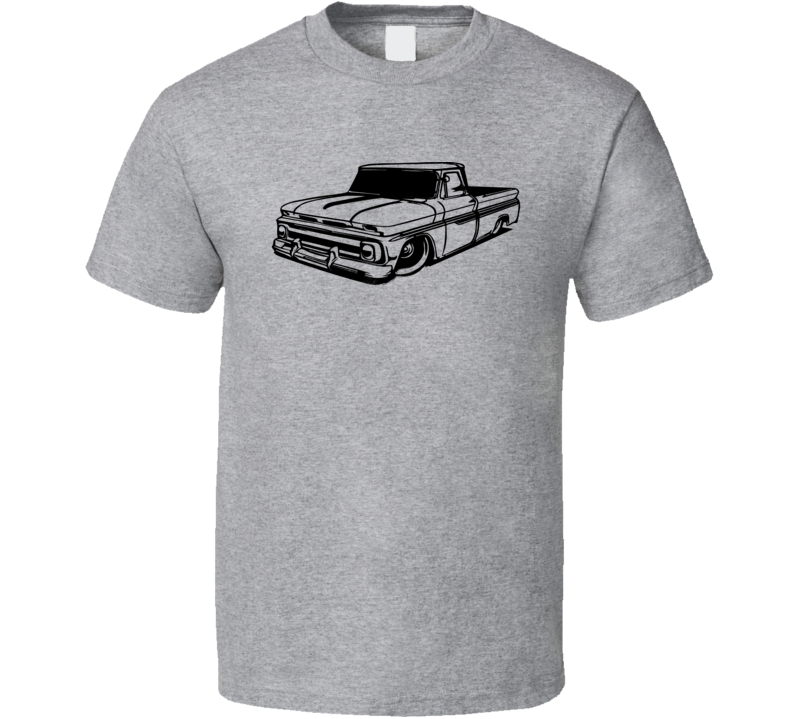 60's Chevy Chevrolet Low Rider Truck American Muscle Car Fan T Shirt