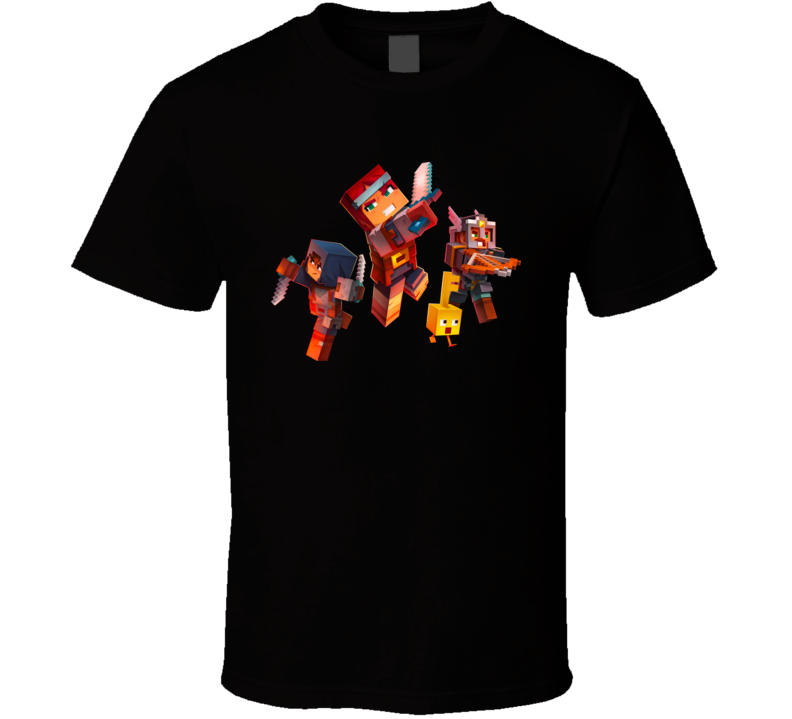 Minecraft Dungeons Characters Best Video Games 2020 T Shirt