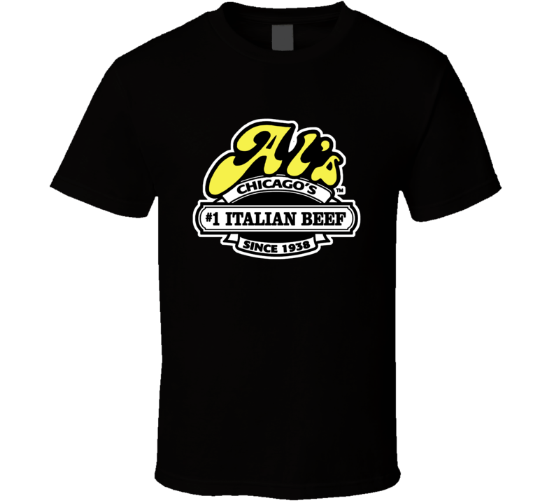 Als Italian Beef Chicago Restaurant T Shirt