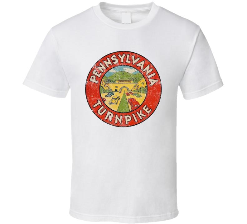 Pennsylvania Turnpike Highway Vintage Sign T Shirt