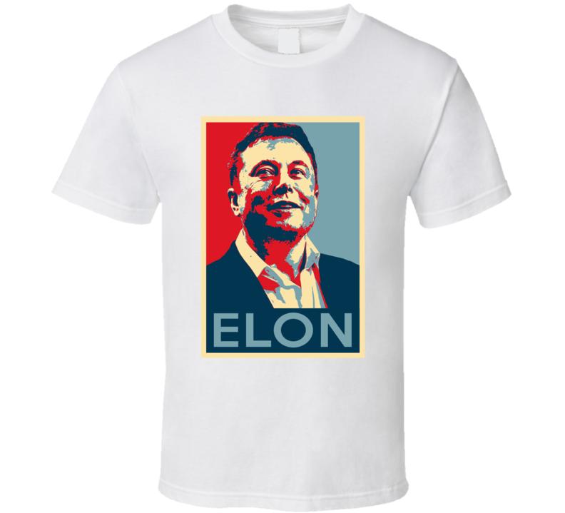 Elon Musk Engineer Spacex Science Fan Hope T Shirt
