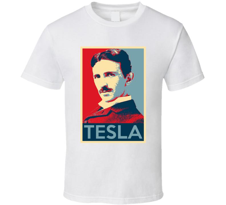 Nikola Tesla Retro Science Fan Hope T Shirt