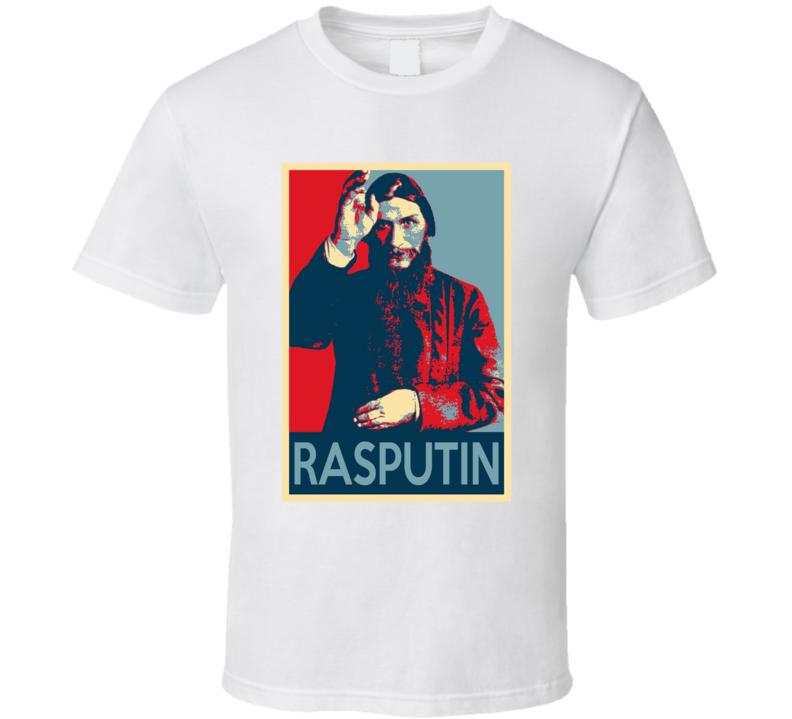 Grigori Rasputin Russian Mystic Fan Hope T Shirt