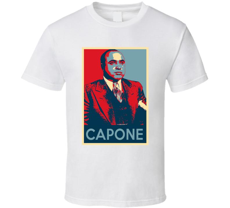Al Capone Gangster Hope T Shirt