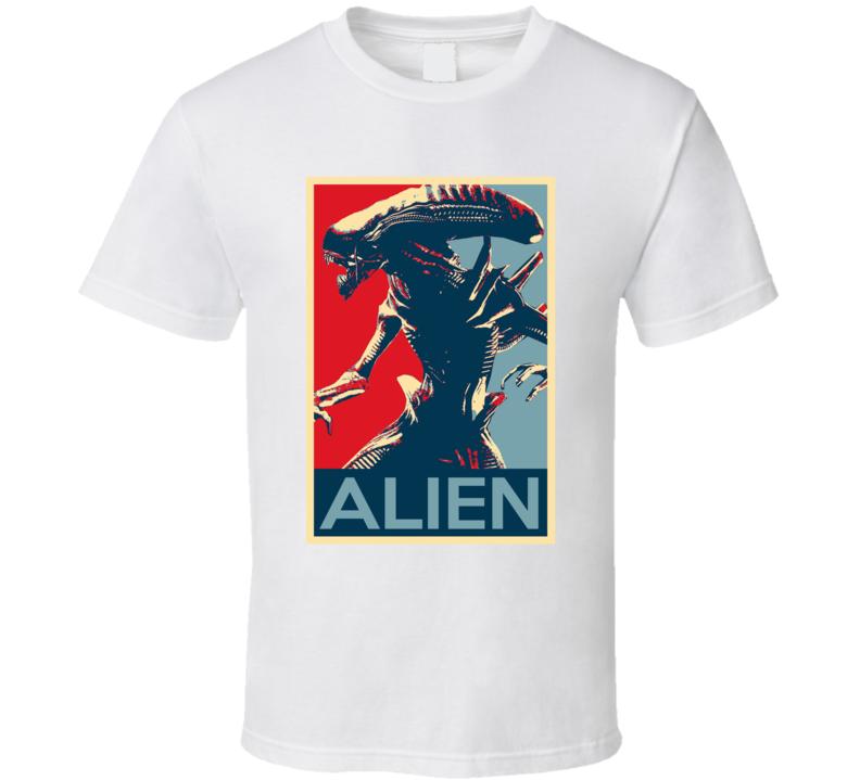 Alien Movie Fan Hope T Shirt