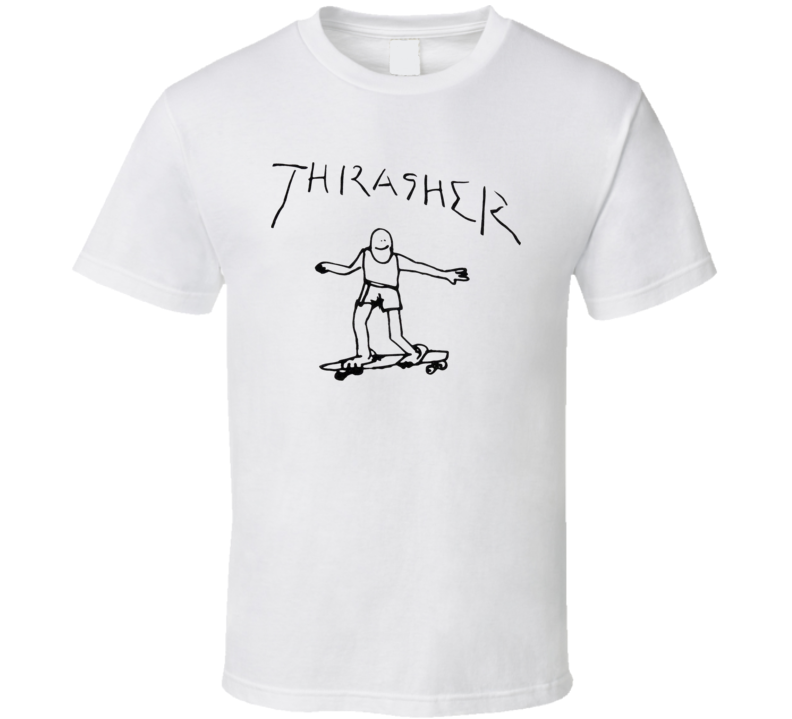 Thrasher Drawn Pope Outer Banks T Shirt