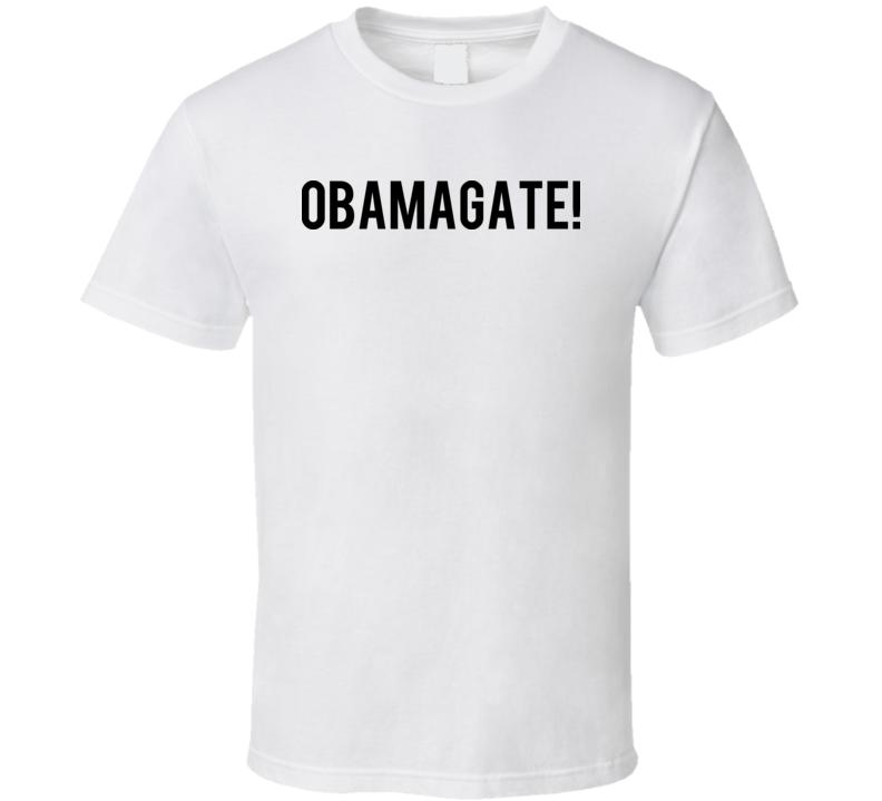 Obamagate Donald Trump Twitter T Shirt