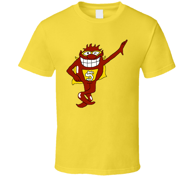 Whammy Lean Wink Press Your Luck Tv Game Show Mascot Fan T Shirt