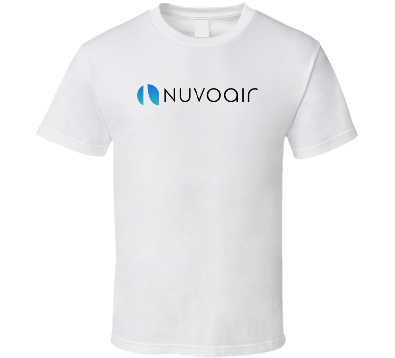 Nuvo Air Healthcare Company Startup New Business T Shirt
