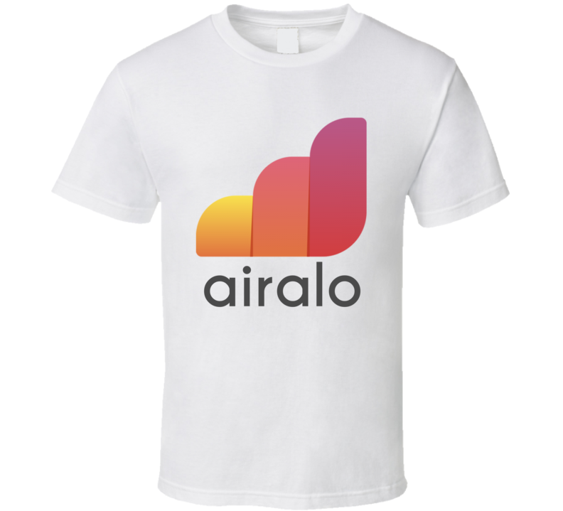 Airalo Transport And Travel Company Startup New Business T Shirt