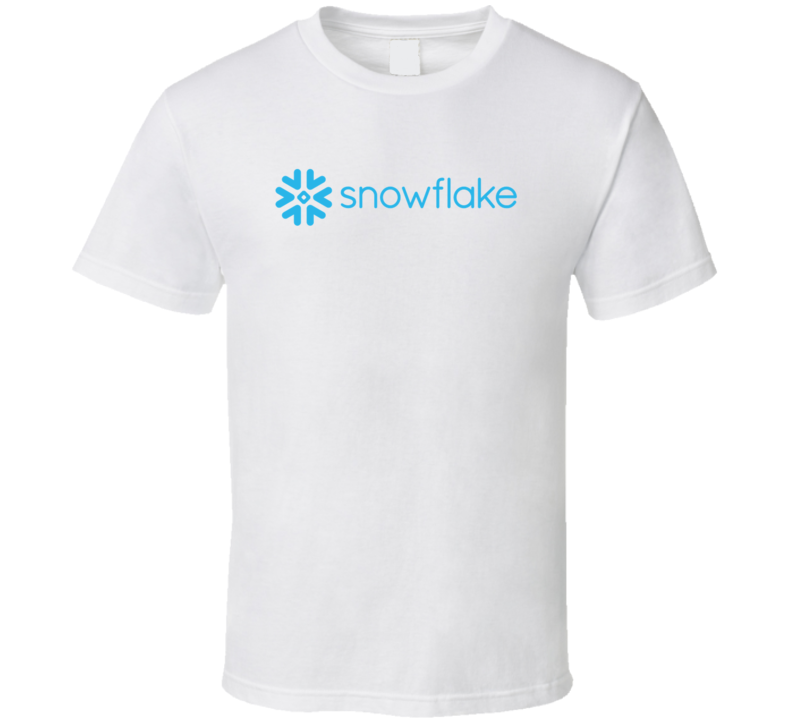 Snowflake Software And Saas Company Startup New Business T Shirt