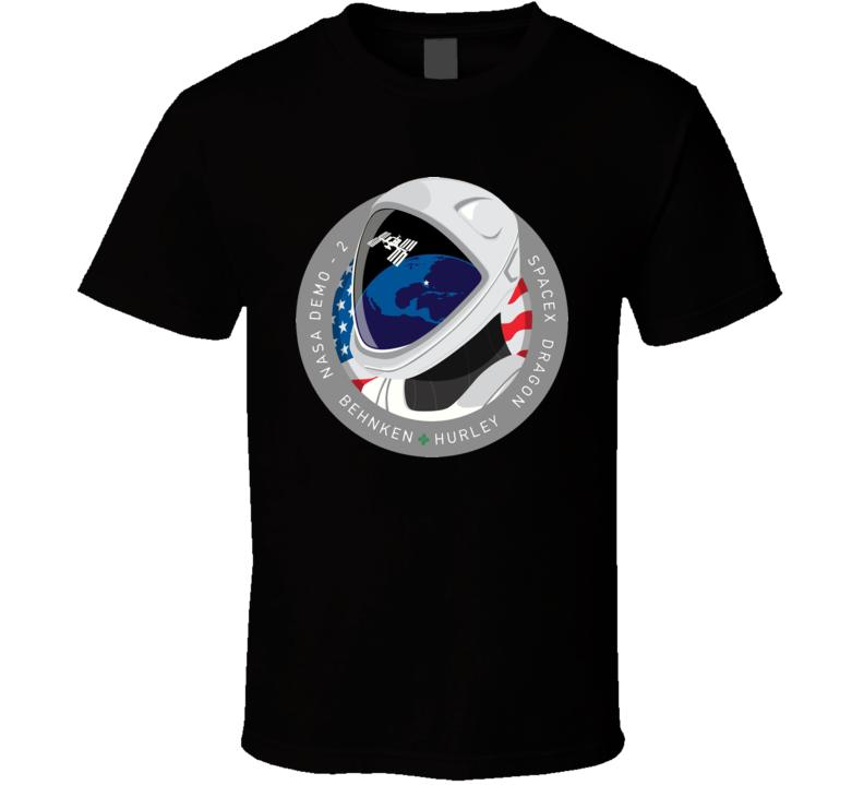Nasa Demo Behnken Hurley Space X T Shirt