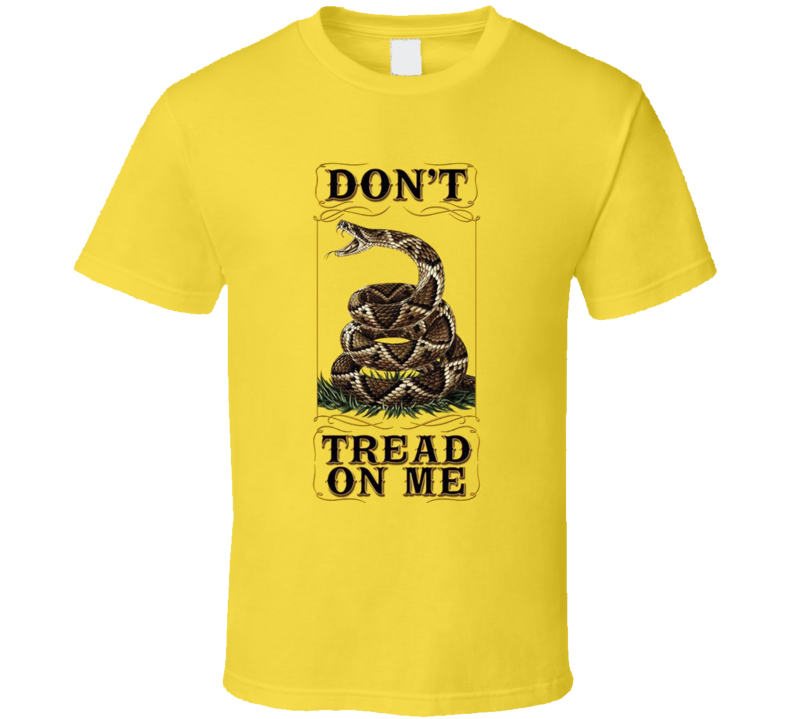 Dont Tread On Me Snake T Shirt