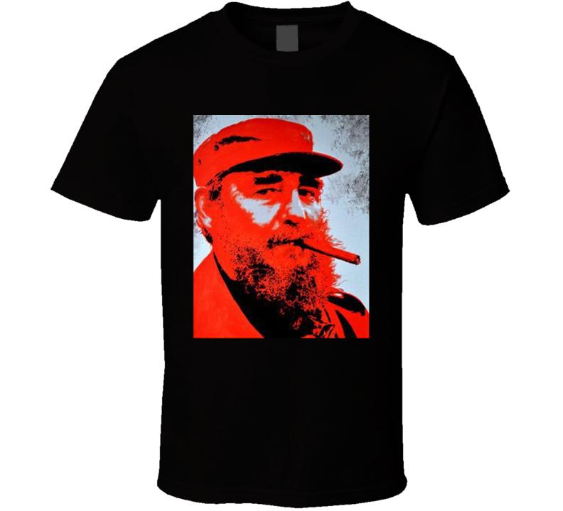 Fidel Castro Political T Shirt