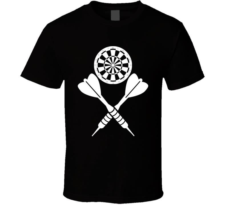 Darts And Board T Shirt