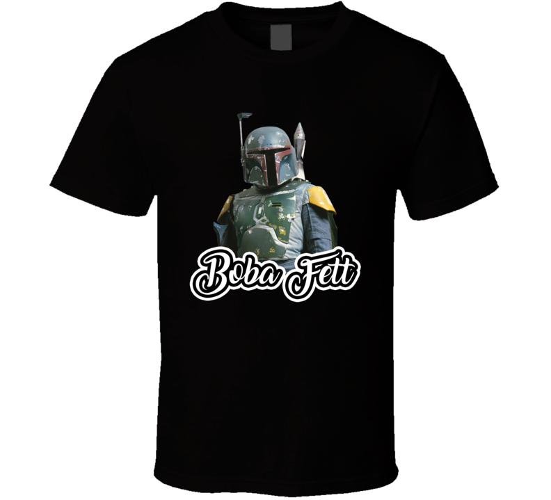 Boba Fett Best Movie Character T Shirt