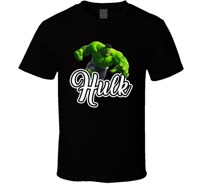 The Hulk Best Movie Character T Shirt