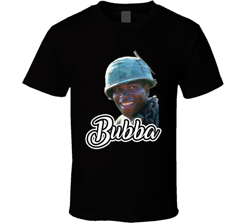 Benjamin Buford Bubba Blue Forest Gump Best Movie Character T Shirt