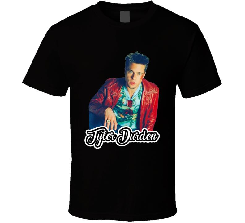 Tyler Durden Fight Club Best Movie Character T Shirt