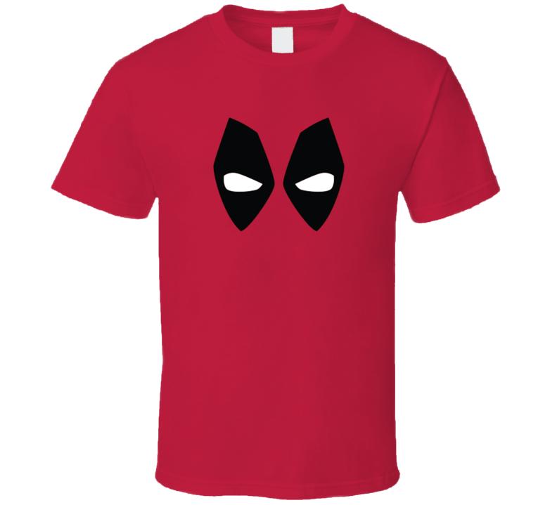 Deadpool Mask Eyes Fan T Shirt