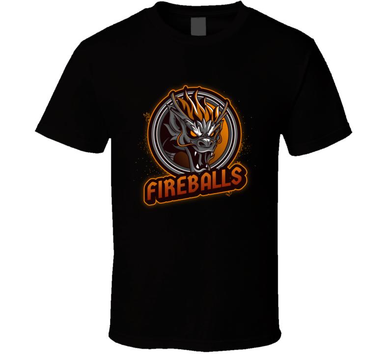 The Fireballs Funny Dodgeball Team Matching T Shirts T Shirt