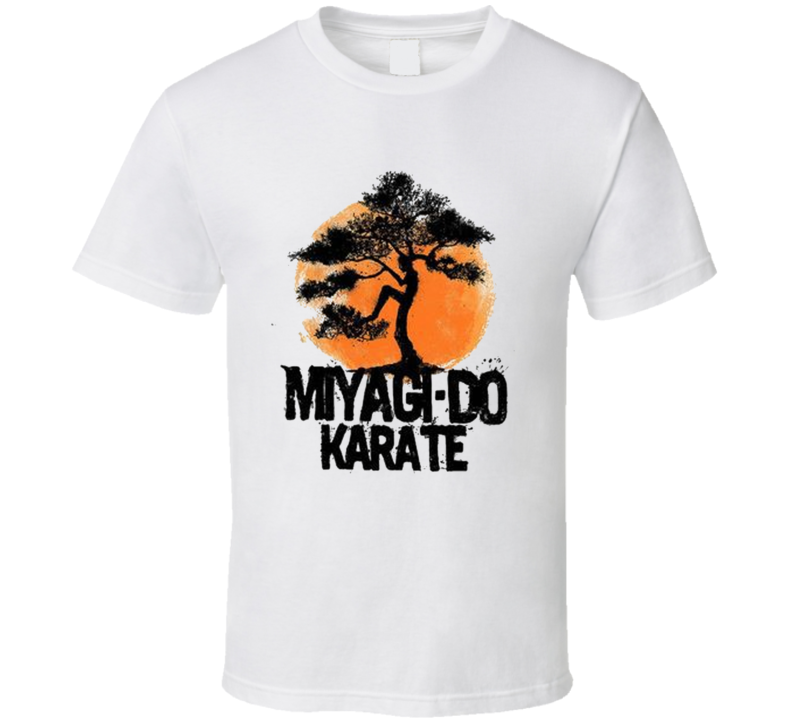 Miyagi Do Karate Kid Movie Fan T Shirt