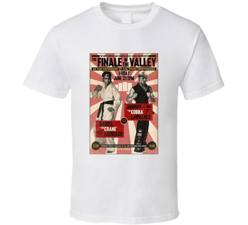 The Finale In The Valley Karate Kid Retro Movie Fan T Shirt
