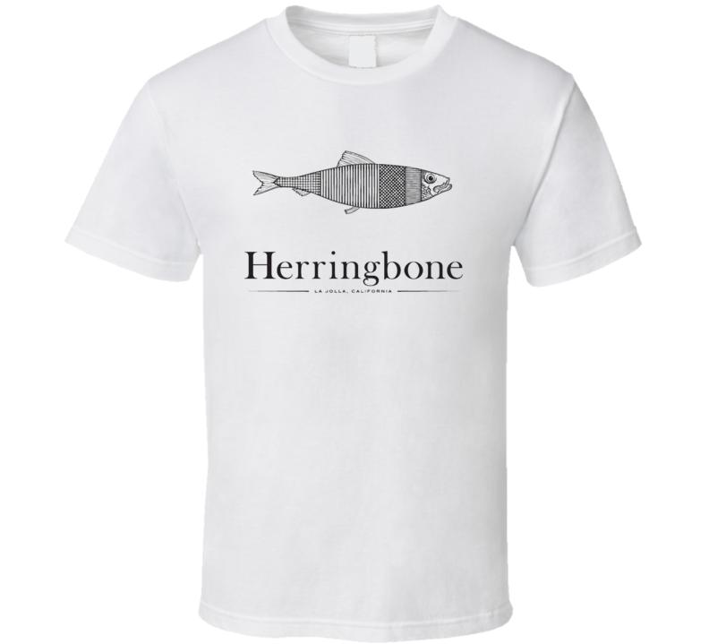 Herringbone San Diego Restaurant Cool T Shirt