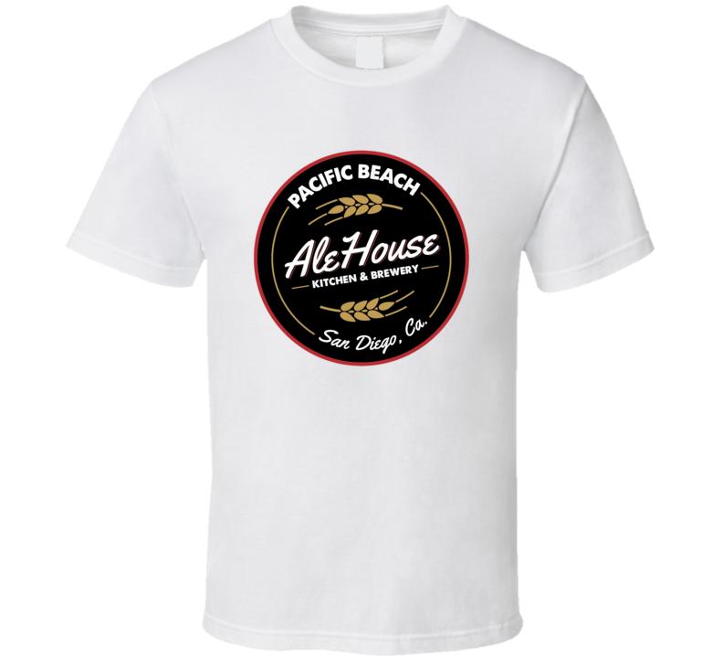 Pacific Beach Ale House San Diego Restaurant Cool T Shirt