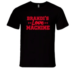 Brandi Love Machine Funny First Name Valentine Gift T Shirt