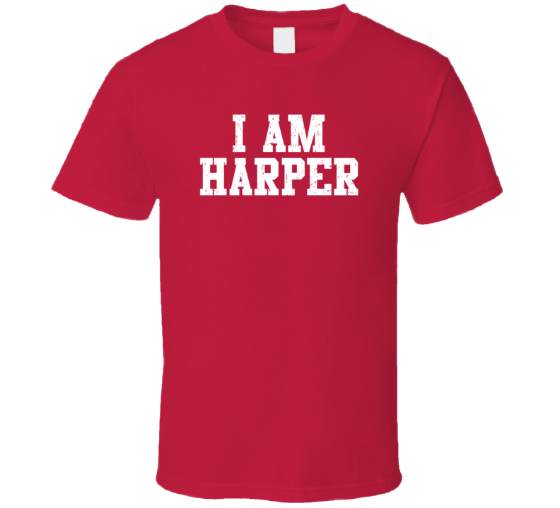 I Am Harper If Lost Return To Husband Wife Couple Funny Valentines Gift T Shirt